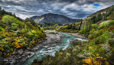 NZ shotover river around djul house (1 s