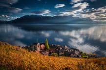 st saphorin, lavaux, suisse