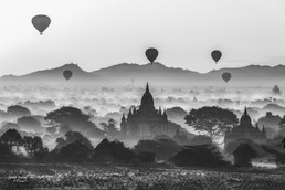 birmanie bagan sunrise black (1 sur 1).j