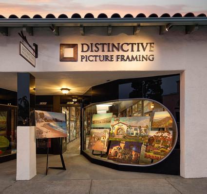 Custom Framing Shop in Santa Barbara