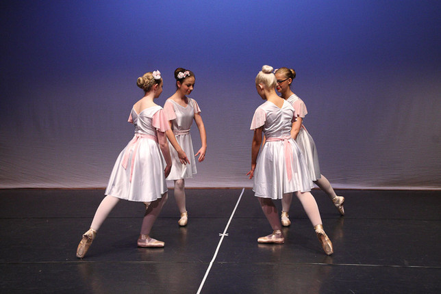 Sale Academy Ballet students