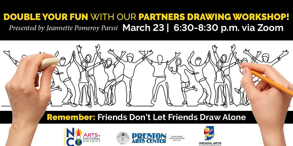 Double Your Fun Online Drawing Workshop