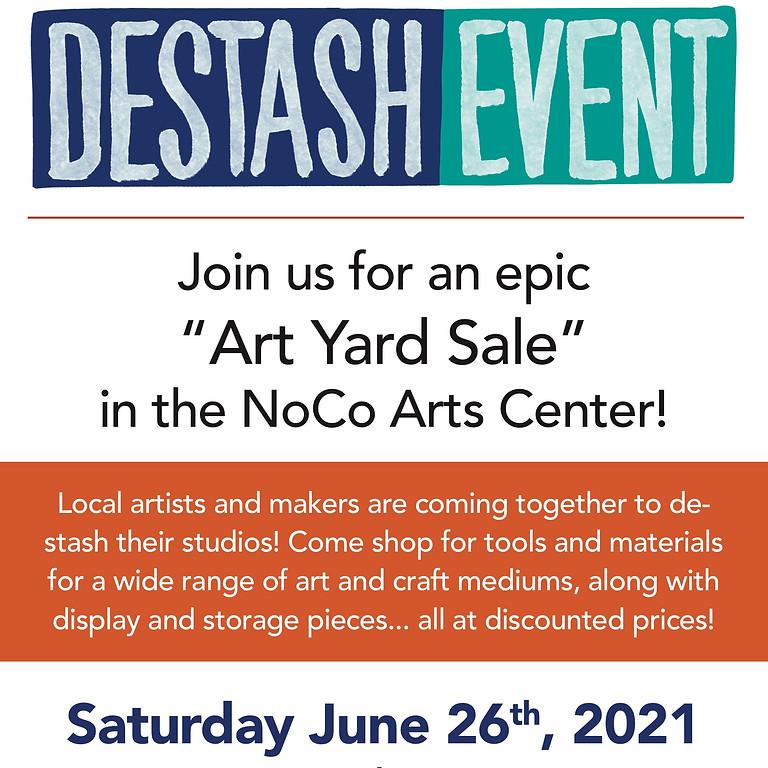 Art and Craft Supply Destash Event