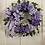 Thumbnail: Purple/Lavender Hydrangea Wreath