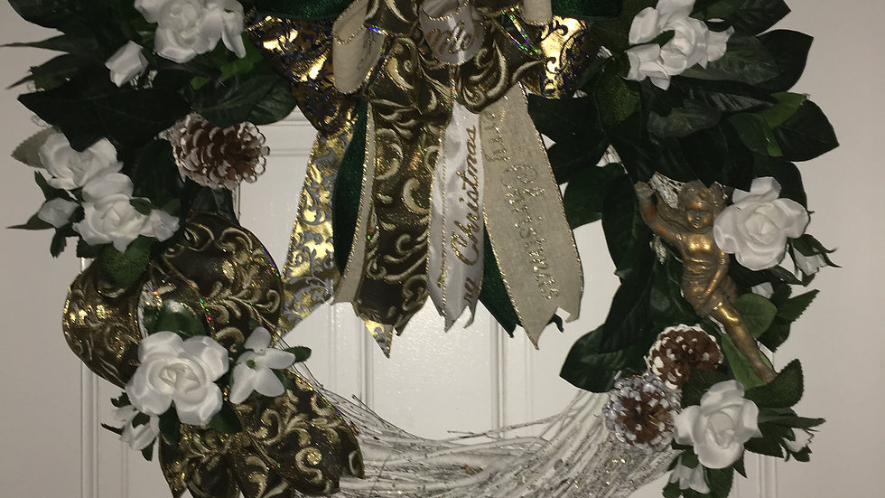 Angel wreath