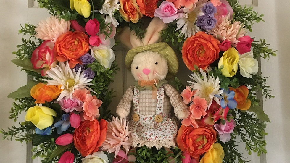 Bugs Bunny Wreath