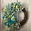 Thumbnail: Teal and light green Tulips Wreath