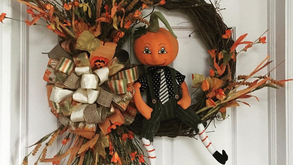 Pumpkin Boy Resting