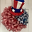 Thumbnail: Patriotic Wreath with Hat