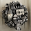Thumbnail: Home Gnome Black & White Wreath