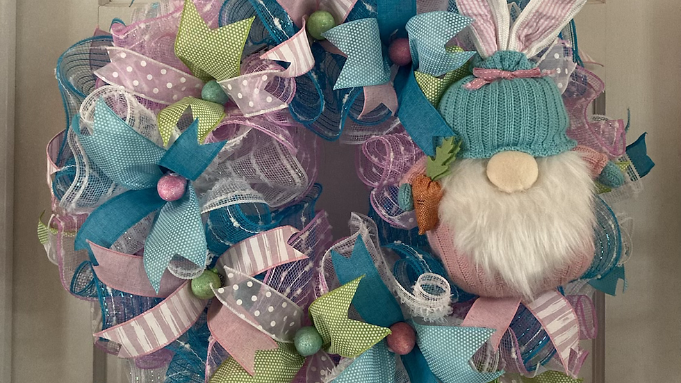 Easter Gnome Wreath