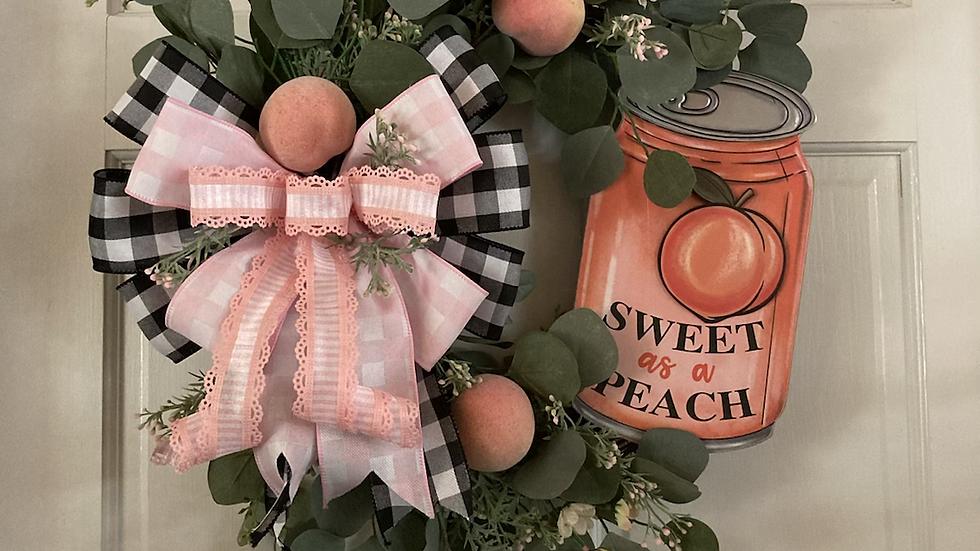 Sweet as a Peach Wreath