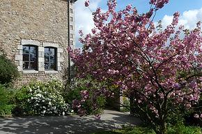 le printemps au pignon de notre maison