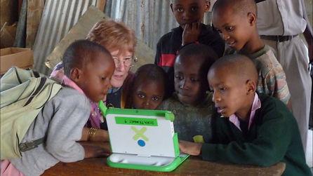 Joanna & kids with XO.jpg
