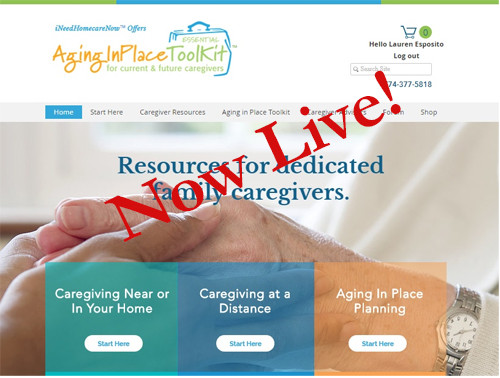 Aging in Place Essential Toolkit Now Live!