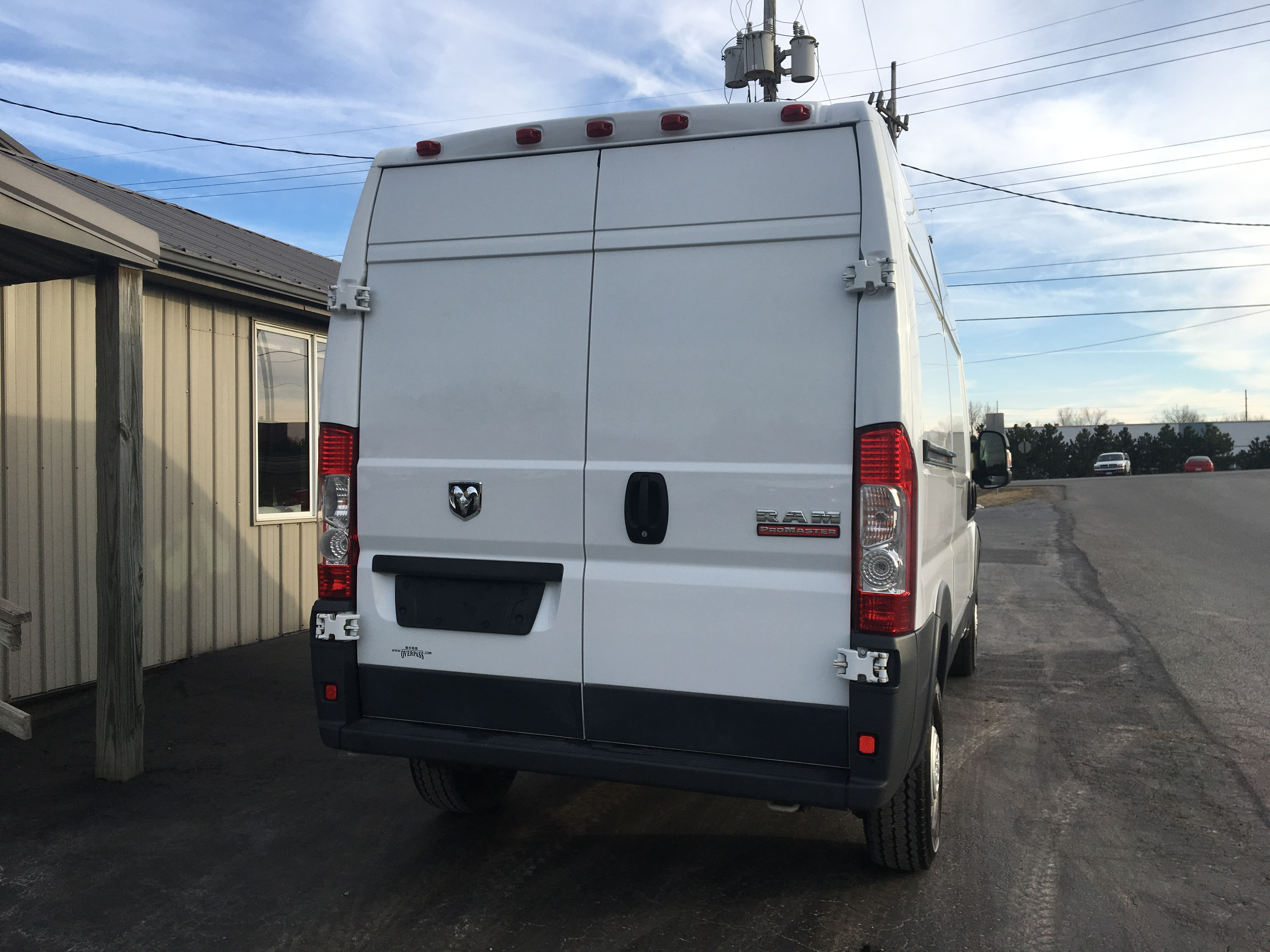 2014 RAM Promaster 2500 High Top CG