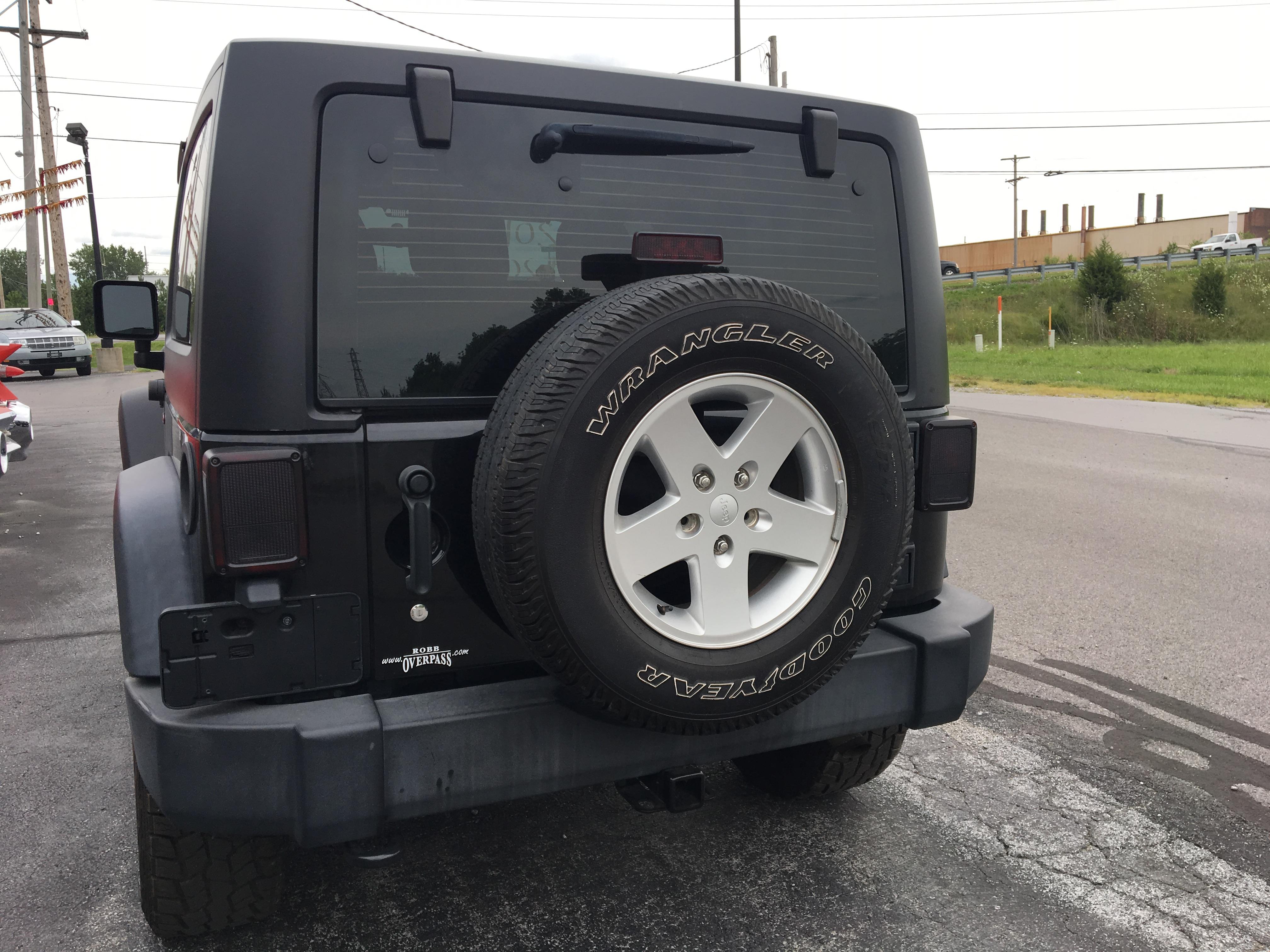 2012 Jeep Wrangler 4x4 Sport
