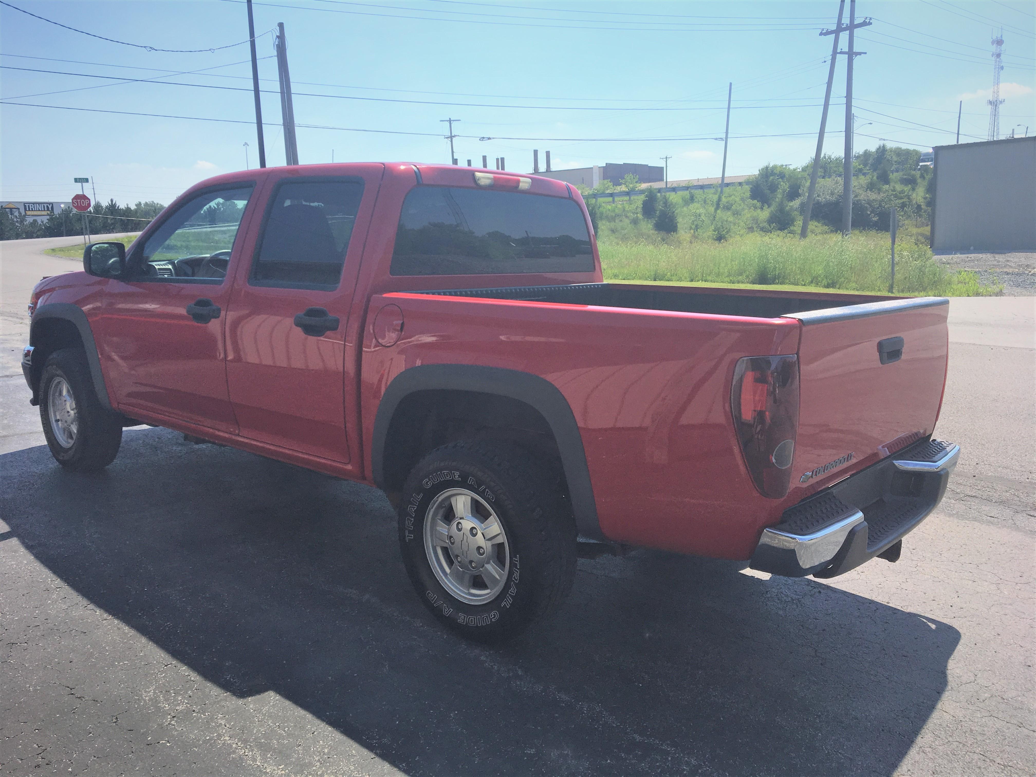 2007 Chevrolet Colorado 4X4 LT Crew