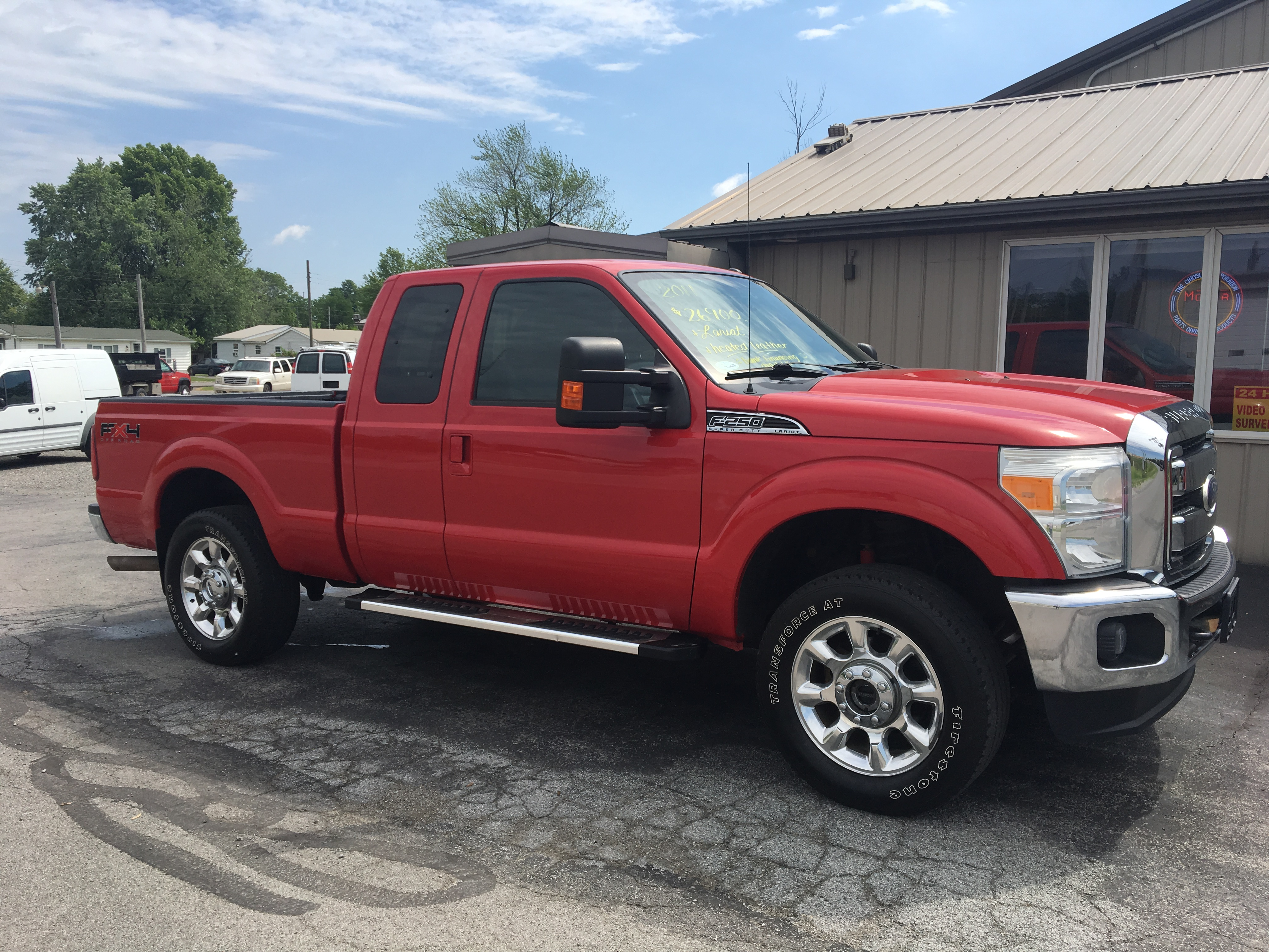 2011 Ford F250 SD Lariat 4X4 SC