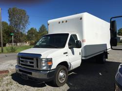 2012 Ford E350 16' box truck