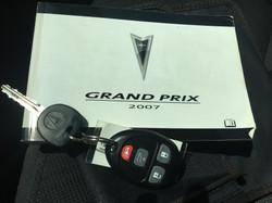 2007 Pontiac Grand Prix 4dr SE