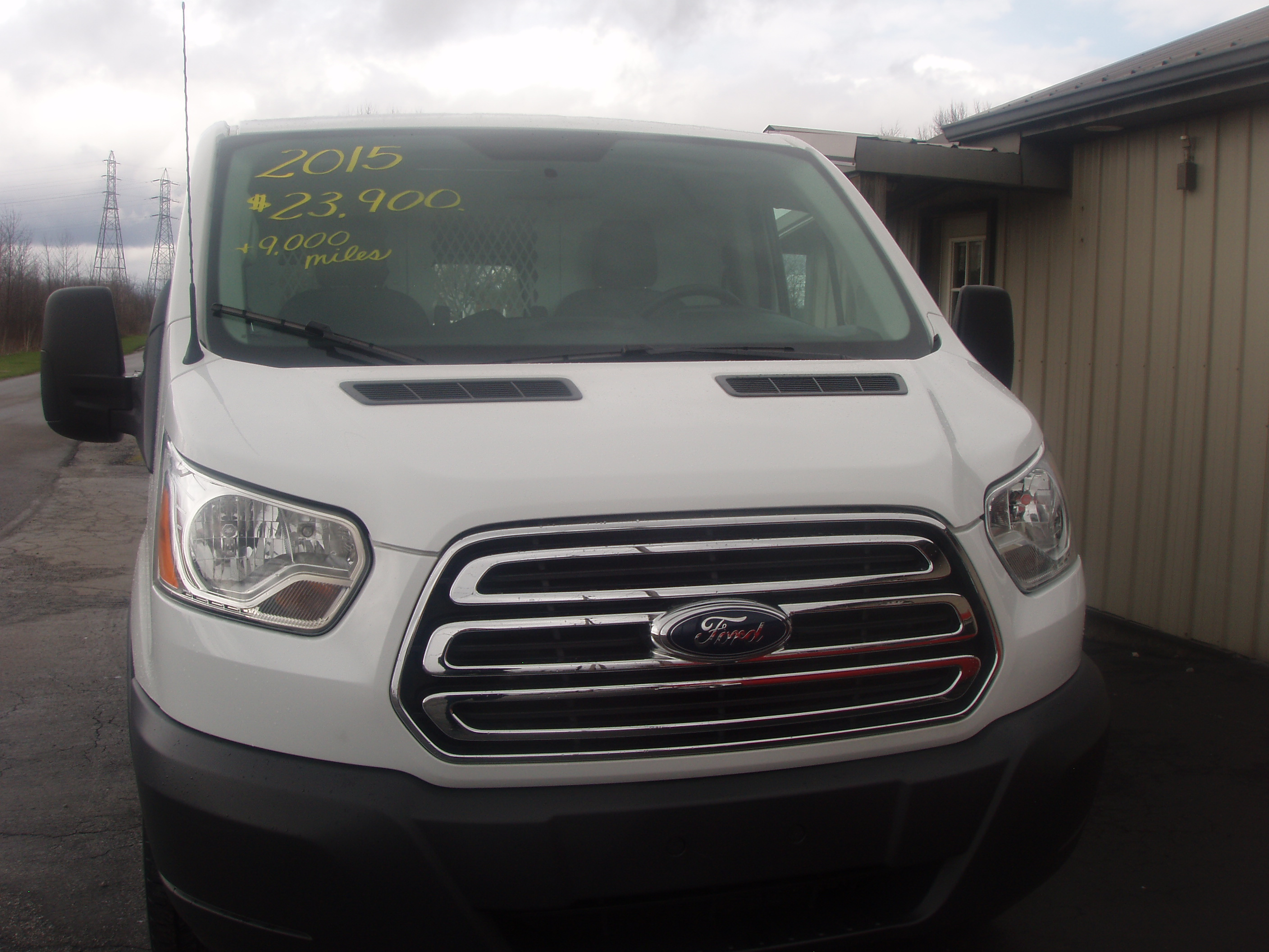 P2015 Ford Transit 250 Cargo A160003
