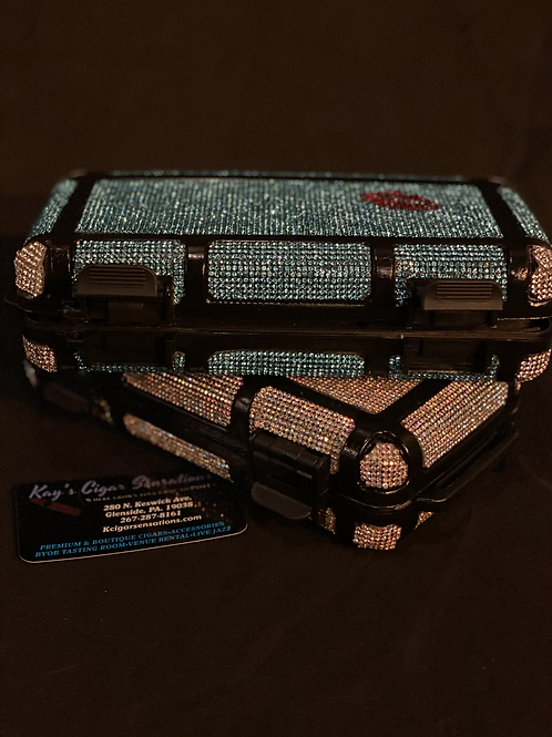Lady's Bling Travel Humidor