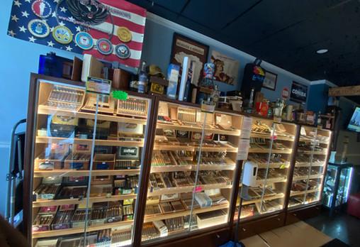 Over 350 Premium & Boutique Cigars