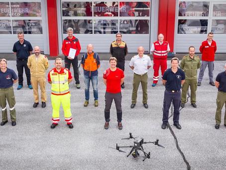 Gratulation zum großen Drohnenführerschein!