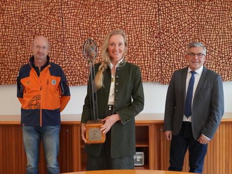 """Salzburger Regionalitätspreis  in der Kategorie """"Land-und-Forstwirtschaft"""" für unser Projekt"""