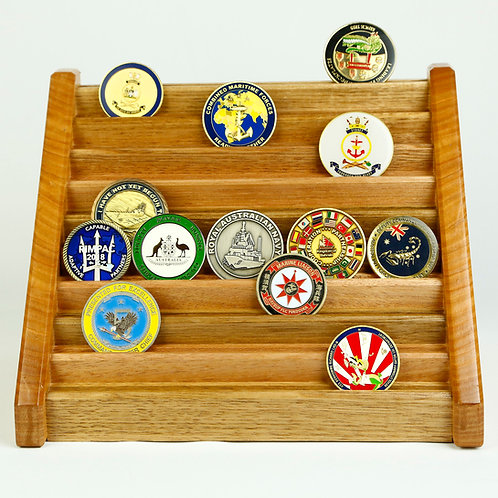 Challenge Coin Display - 50 coin - 933