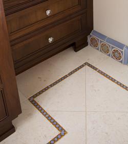 bath floor detail