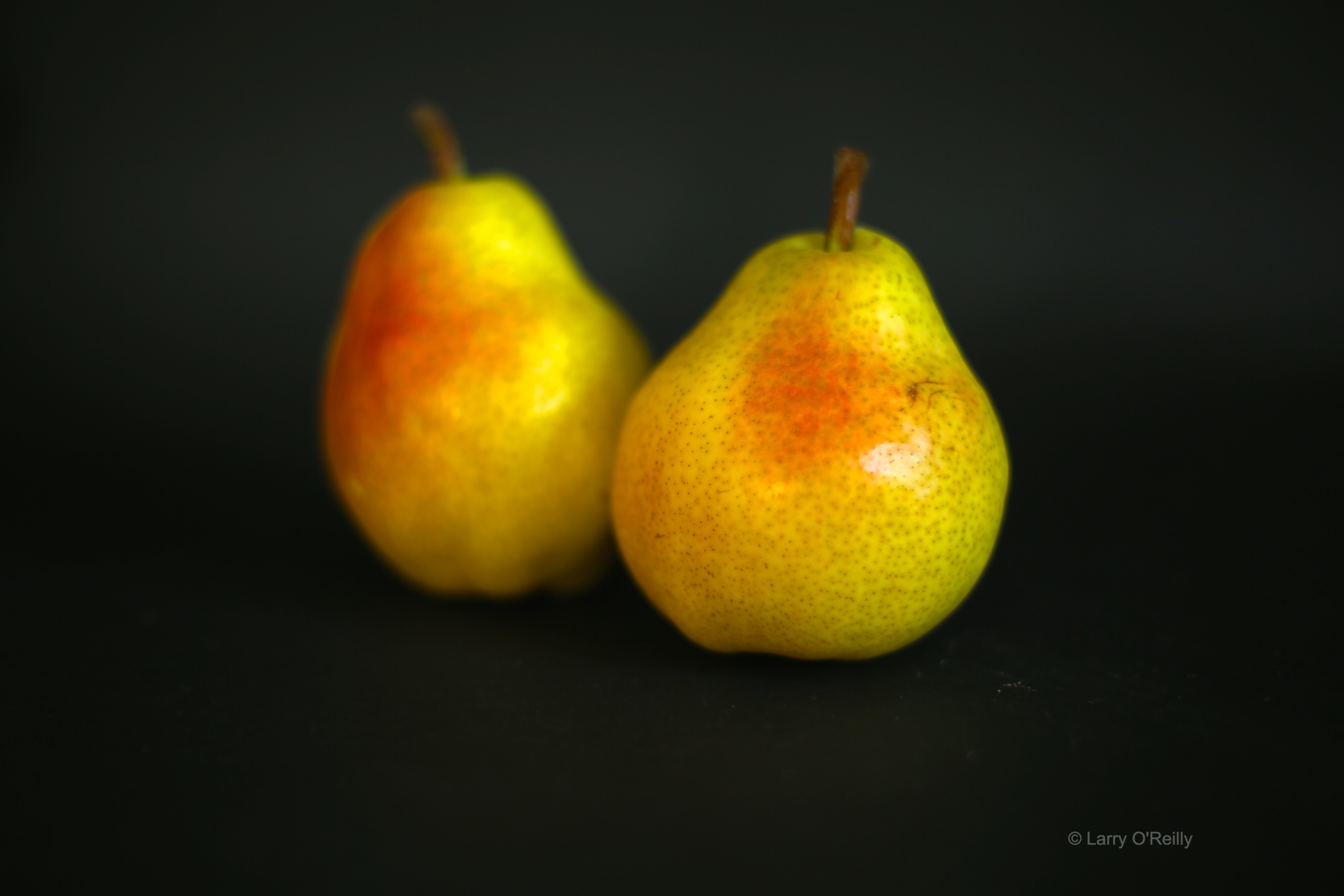 Two Pears, One out of Focus