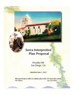 Serra Interpretive Plan