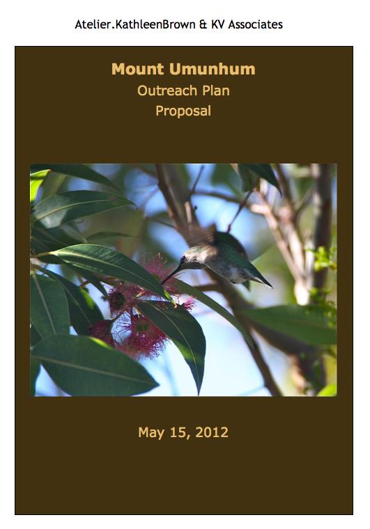 Mount Umunhum Outreach Plan