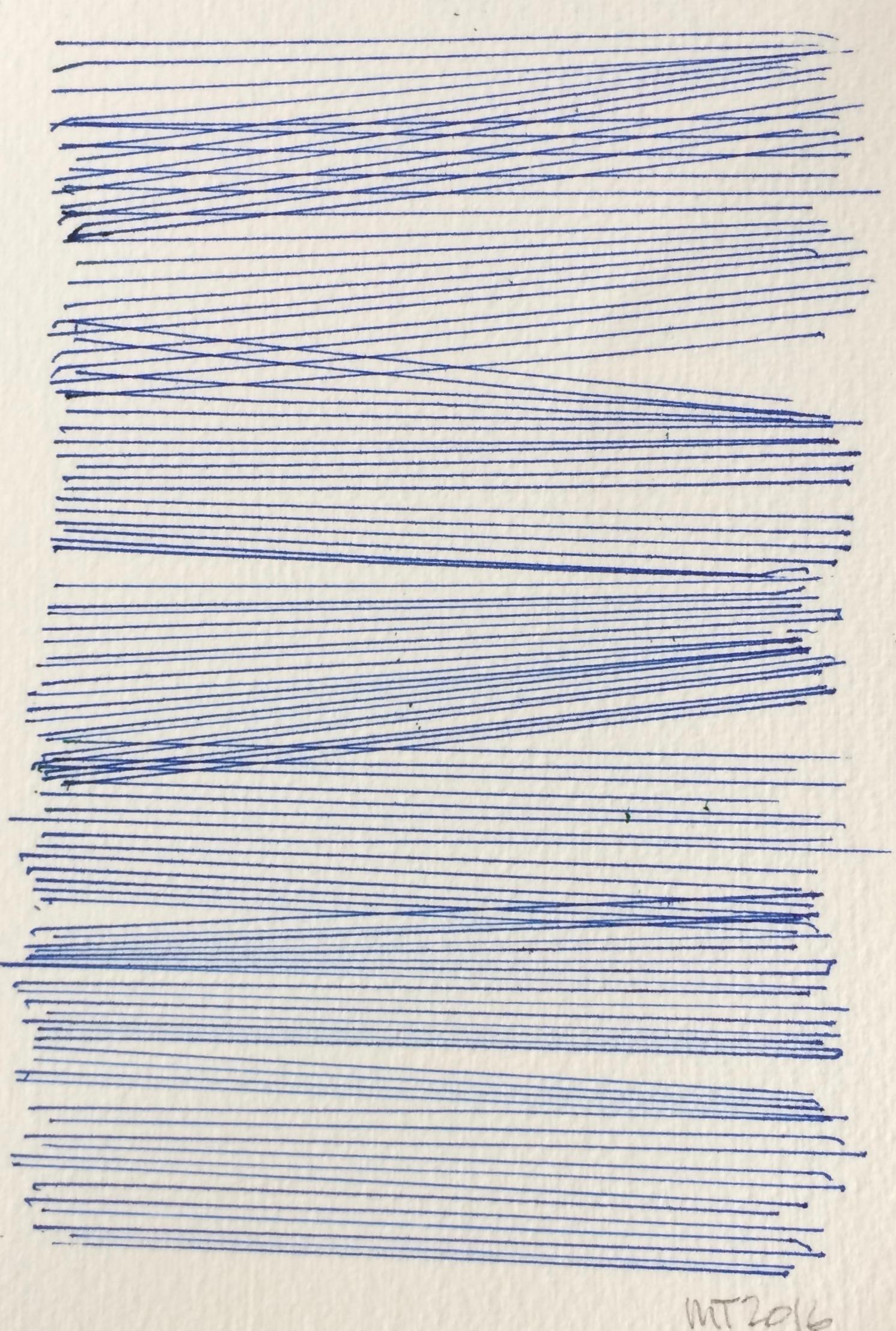 Line series blue