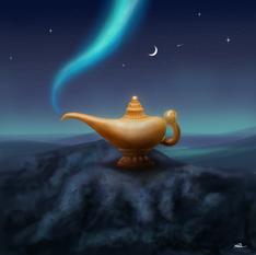 GENIE IN A LAMP