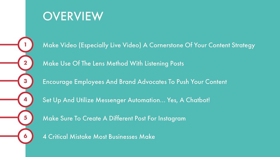 Presentation Slide for Client