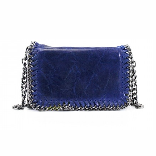 Sant Antoni Clutch/Cross Body Chain Bag - Marine