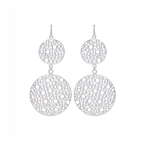 Orbe Earrings - Silver