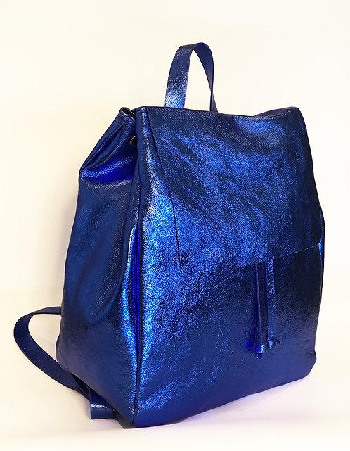 Cap Negret Backpack - Metallic Cobalt