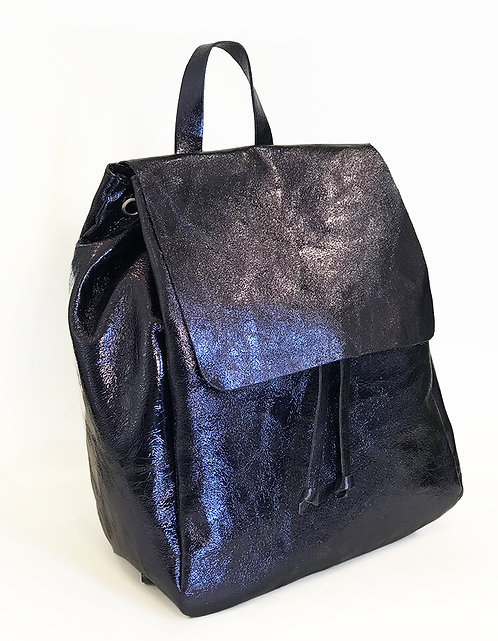 Cap Negret Backpack - Metallic Navy