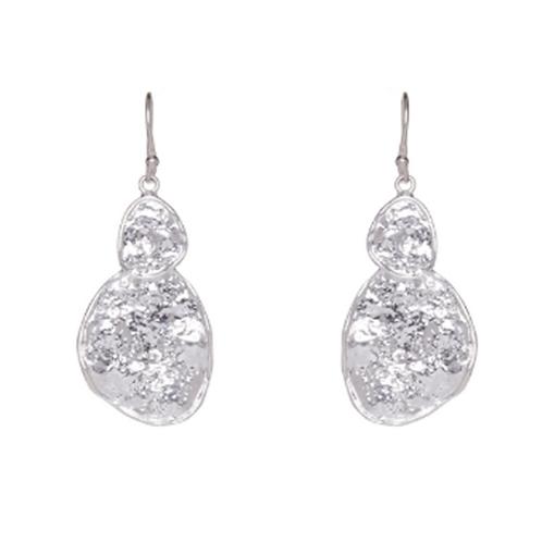 Plata Earrings - Silver