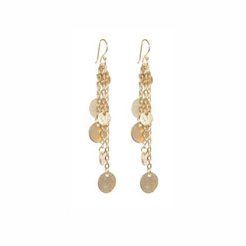Bohemio Earrings - Gold