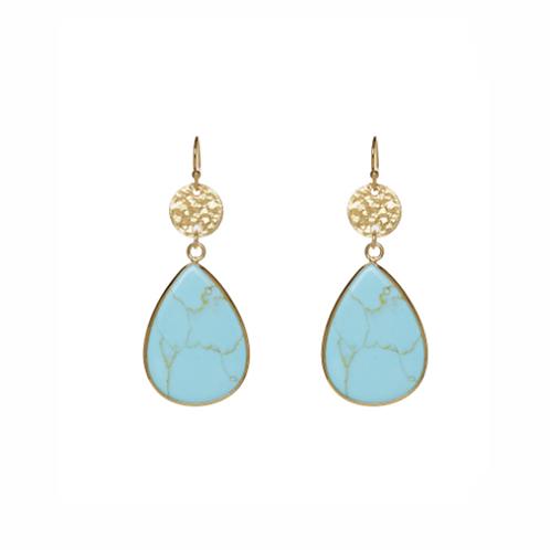 Joya Earrings - Turquoise