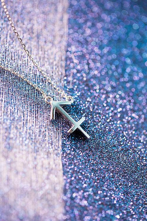 Sagittarius Sterling Silver Zodiac Pendant