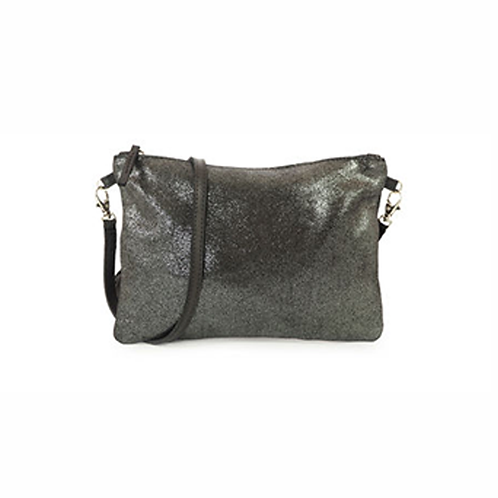 San Rafael Purse - Metallic Black