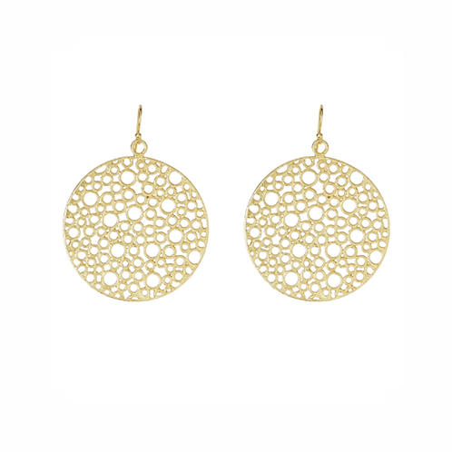 Luna Earrings - Gold