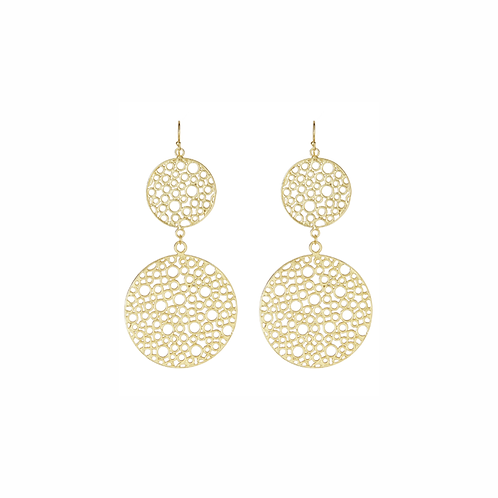 Orbe Earrings - Gold