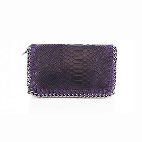 Sant Antoni Clutch/Cross Body Chain Bag - Amethyst